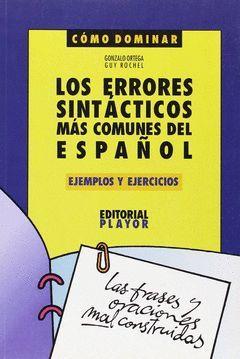 ERRORES SINTACTICOS DEL ESPAÑOL.PLAYOR
