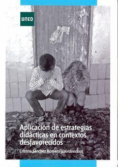 APLICACION DE ESTRATEGIAS DIDACTICAS EN CONTEXTOS DESFAVORECIDOS