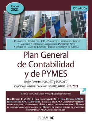 PLAN GENERAL DE CONTABILIDAD Y DE PYMES 2021