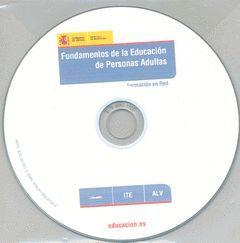 FUNDAMENTOS DE LA EDUCACIÓN DE PERSONAS ADULTAS