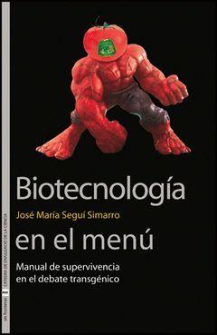 BIOTECNOLOGÍA EN EL MENÚ.PUV