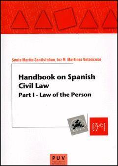 HANDBOOK ON SPANISH CIVIL LAW I