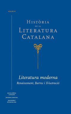 HISTORIA DE LA LITERATURA CATALANA, VOL. IV
