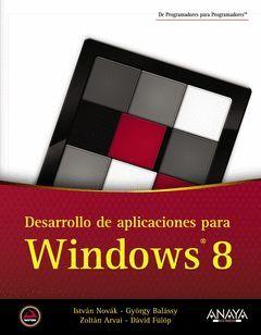 DESARROLLO DE APLICACIONES PARA WINDOWS 8