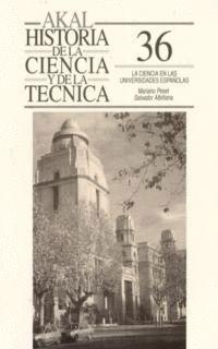 CIENCIA EN LAS UNIVERSIDADES ESPAÑOLAS,LA