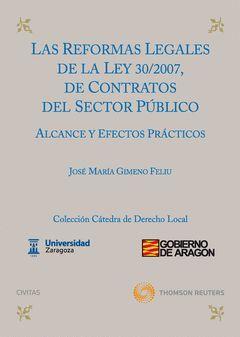 REFORMAS LEGALES DE LA LEY 39/2007. 2ªED.DE CONTRATOS DEL SECTOR