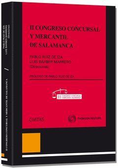 II CONGRESO CONCURSAL Y MERCANTIL DE SALAMANCA