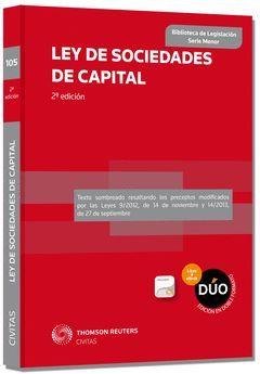 LEY DE SOCIEDADES DE CAPITAL (DÚO: PAPEL + PROVIEW)