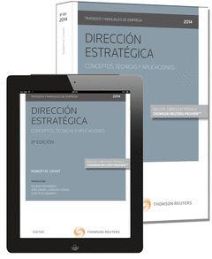 DIRECCIÓN ESTRATÉGICA-CONCEPTOS, TÉCNICAS Y APLICACIONES (DÚO)