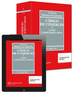 CÓDIGO DE COMERCIO (EBOOK+LIBRO) 38ED. 2014 **6-CIVITAS**