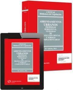 ARRENDAMIENTOS URBANOS Y PROPIEDAD HORIZONTAL  (LIBRO+EBOOK)  **1-CIVI