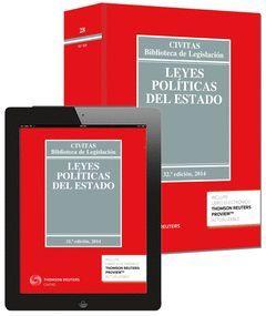 LEYES POLITICAS DEL ESTADO (EBOOK+LIBRO)  32ED/2014   ** 28-CIVITAS **