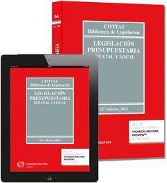 LEGISLACIÓN PRESUPUESTARIA. ESTATAL Y LOCAL (12 ED.)