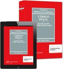 CÓDIGO PENAL Y LEGISLACIÓN COMPL. (EBOOK+LIBRO) 40ED/2014 **7-CIVITAS