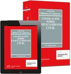 LEGISLACIÓN ENJUICIAMIENTO CIVIL (LIBRO+EBOOK)  37ED/2014  12-CIVITAS*