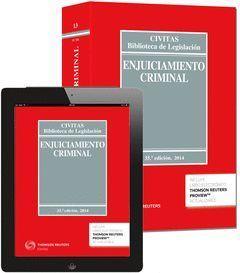 LEY ENJUICIAMIENTO CRIMINAL. (EBOOK+LIBRO) 35ED./2014  *13-CIVITAS*