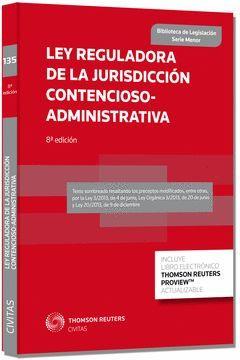 LEY REGULADORA DE LA JURISDICCIÓN CONTENCIOSO-ADMINISTRATIVA-LEY 29/1998, DE 13