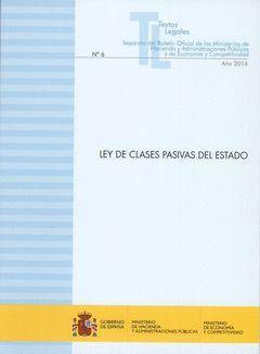 LEY DE CLASES PASIVAS DEL ESTADO