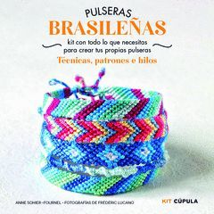 KIT PULSERAS BRASILEÑAS. CUPULA-CAJA