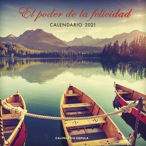 CALENDARIO EL PODER DE LA FELICIDAD 2021