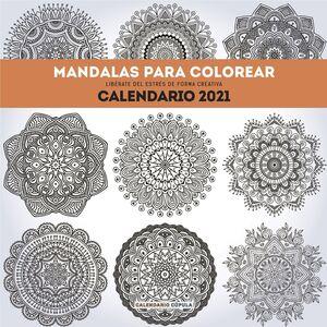CALENDARIO MANDALAS COLOR 2021