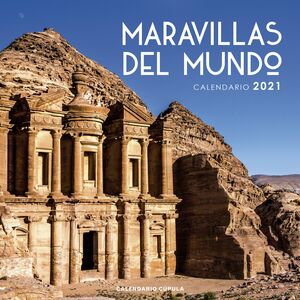 CALENDARIO MARAVILLAS MUNDO 2021