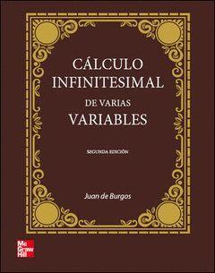 CALCULO INFINITESIMAL DE VARIAS VARIABLES, 2ª EDC.
