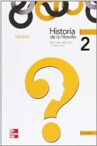 HISTORIA DE LA FILOSOFÍA, 2 BACHILLERATO (MADRID)