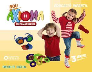 NOU AXIOMA P3. MATEMÀTIQUES (DIGITAL)
