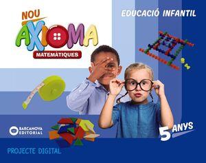 NOU AXIOMA P5. MATEMÀTIQUES (DIGITAL)