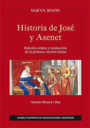 HISTORIA DE JOSÉ Y ASENET