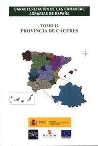 CARACTERIZACIÓN DE LAS COMARCAS AGRARIAS DE ESPAÑA 12