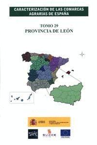 CARACTERIZACION COMARCAS AGRARIAS ESPAÑA LEON