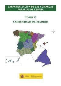 CARACTERIZACION COMARCAS AGRARIAS ESPAÑA MADRID