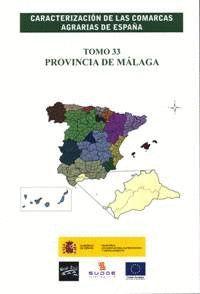 CARACTERIZACION COMARCAS AGRARIAS ESPAÑA MALAGA
