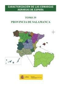 CARACTERIZACION COMARCAS AGRARIAS ESPAÑA SALAMANCA