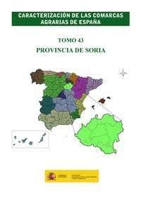 CARACTERIZACION COMARCAS AGRARIAS ESPAÑA SORIA