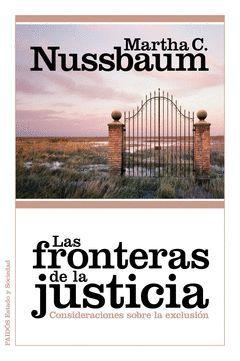 FRONTERAS DE LA JUSTICIA,LAS. PAIDOS-RUST
