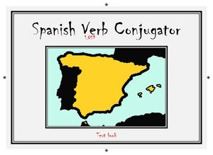 SPANISH 1859 VERB CONJUGATOR