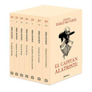 ESTUCHE CAPITÁN ALATRISTE  (7 VOL.)