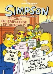MAGOS HUMOR.SIMPSONS.29.TODOS A LA CALLE.ED.B.COMIC