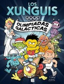 OLIMPIADAS GALACTICAS. COMIC XUNGUIS N.º