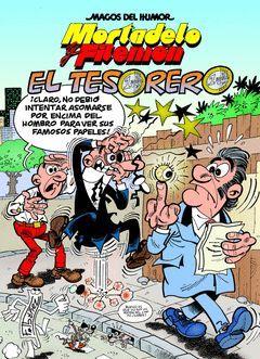 MORTADELO Y FILEMÓN.EL TESORERO.EDICIONES B.COMIC