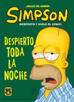 MAGOS SIMPSON 43 DESPIERTA Y HUELE EL COMIC