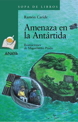 AMENAZA EN LA ANTÁRTIDA.SOPA DE LIBROS-132-INF