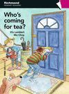 WHO'S COMING FOR TEA? + CD.PRIMARY READERS.RICHMOND