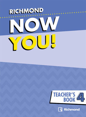 NOW YOU! 4 TEACHER'S BOOK