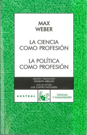CIENCIA COMO PROFESIÓN/LA P
