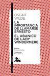 IMPORTANCIA DE LLAMARSE ERNESTO,LA / ABANICO DE LADY WINDERMERE,EL.AUSTRAL.TEATRO-483