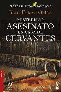 MISTERIOSO ASESINATO EN CASA DE CERVANTES.BOOKET-2681